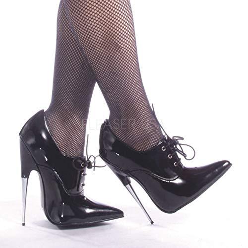 Devious Women's 6 Inch Spike Stell Heel Pump