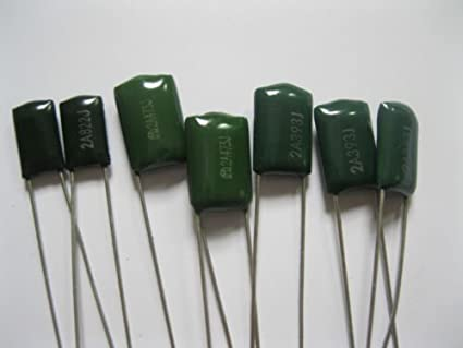 5 Pieces Capacitor Polyester 100nf 100 NF 250v P 5mm
