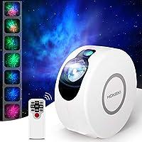 HOKEKI LED Night Light Projector, 2-in-1 Projector Stars Projector Light Star Night Galaxy Projector Lightt Sky Night for...