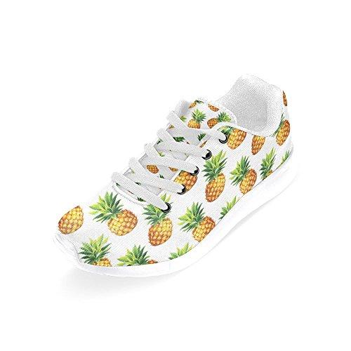 Sneaker Da Corsa Jogging Da Donna Di Interesse Easy Go Easy Walking Sportivo Sportivo Scarpe Da Ginnastica Ananas Tropicale