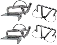 SeaLux Snap Davits for Inflatable Dinghy Instant Lock System Easy Lift Kit