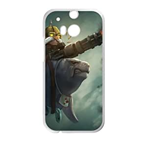 HTC One M8 Cell Phone Case White League of Legends Urfrider Corki NT2903581