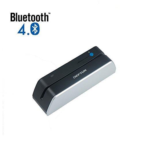 Deftun MSR X6(BT) Bluetooth Magstripe Credit Card Reader Writer Encoder Stripe MSRX6BT MSR206