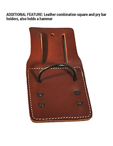 CLC Custom Leathercraft 21448 15 Pocket, 4 Piece Pro Framers Combo System Tool Belt by Custom Leathercraft (Image #3)