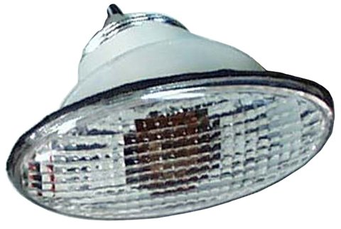 (Emgo 61-81966 Clear Medium Double Filament Cat Eye Fairing Mount Signal)