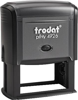 Trodat 4926 Extra Large Self Inking Rubber Stamp- Customized with your unique text ()