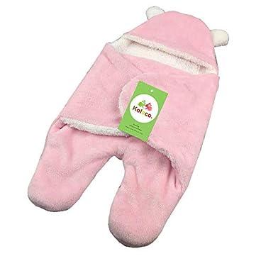 0-6 monate herbst und winter baby schlafsack neugeborenes baby-Pink_65 * 80cm baby schlafsack mit schlafsack