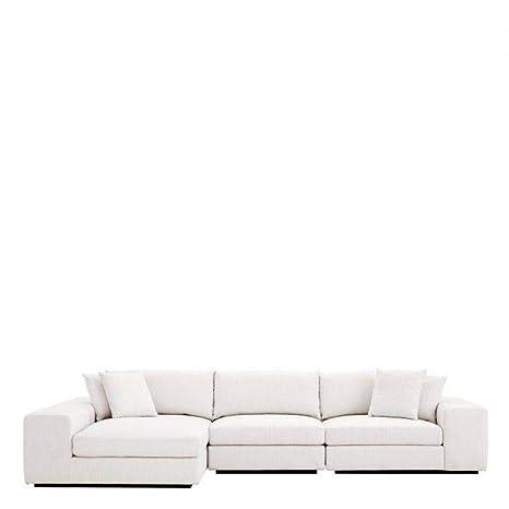 Amazon.com: Off White Lounge Sofa | EICHHOLTZ Vista Grande ...
