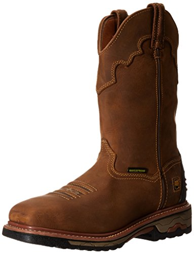 Dan Post Men's Blayde Steel Toe Work Boot, Saddle Tan, 8.5 D US