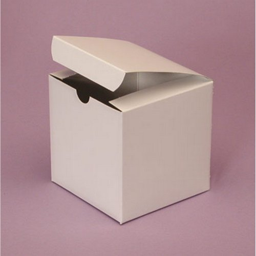 3in. x 3in. x 3in. White Gift Boxes - 20 Pack