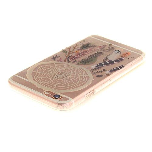 "MOONCASE iPhone 6 / 6S Hülle Case,Slim Handyhülle Schutzhülle Rutschfestem TPU Soft Backcover Bumper Case für iPhone 6S / iPhone 6 (4.7 "") TX01"