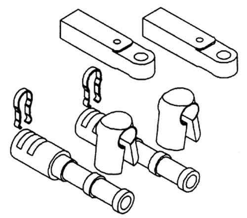 KIT ADAPTER FOR 3300 cable Merc Outboard I/O