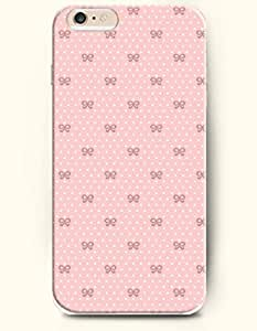 OOFIT Apple iPhone 6 Case 4.7 Inches - Bowtie and White Dots