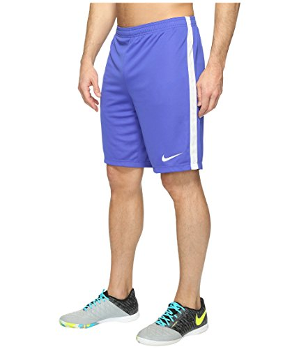 Nike Dry Fit Academy Soccer Short Paramount Blue/White Men's Shorts XL (Nike Football Men Shorts)