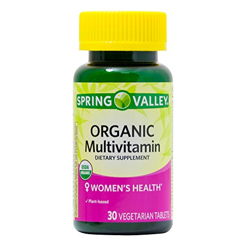 Spring Valley Organic Women's Multivitamin Tablet (30 Count) For Sale