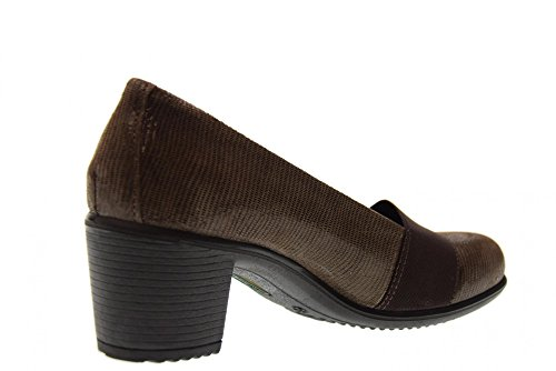 89294 ENVAL heel Brown shoes 00 ballet SOFT with women's pwYU4qp