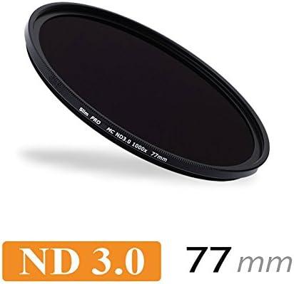 CameraPlus - Filtro de Densidad Neutral Slim S-Pro1 MC ND1000 77mm ...