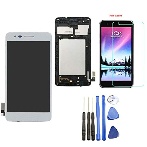 - Ubrokeifixit Compatible Touch Glass Panel Screen Digitizer LCD Display Assembly with Frame Replacement for LG K8 2017