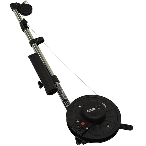Scotty #1091 Longarm Manual Downrigger w/ 60-Inch Telescopic Boom Combo Pack by Scotty