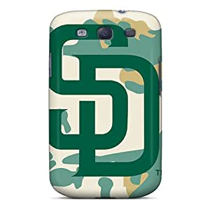 Samsung Galaxy S3 YjK17745pxUg Customized Stylish San Diego Padres Series Best Cell-phone Hard Covers -SherriFakhry