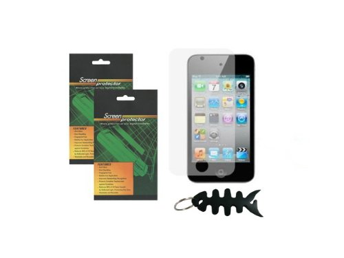 iShoppingdeals - 2PCS LCD Screen Protector for Apple iPod Touch 4G 4th Generation