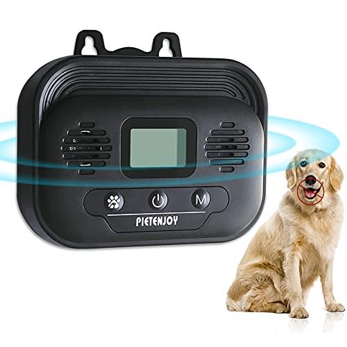 YC° Anti Barking Control Device, Ultrasonic Outdoor Dog Bark Deterrent Stop Barking, Upgraded Safe Bark Control Device…