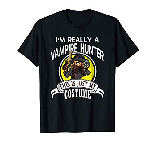 Vampire Hunter Halloween Costume T-shirt This Is My