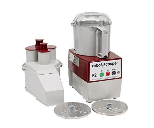 Robot Coupe R2N Continuous Feed Combination Food Processor with 3 Quart Bowl - 120V by Robot Coupe