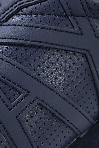 Armani Xux017xcc04blue Baskets Bleu Cuir Homme Exchange raqzBr
