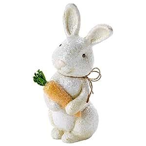 Papa Bunny Figurine