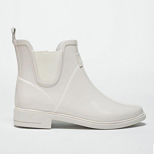 Size Boot Rain slip 4UK resistant 3 Rainy Women Non 36EU Galoshes Season Colors 3 Waterproof Rubber 6US QIANDA 2 Color Wear qSfawAx