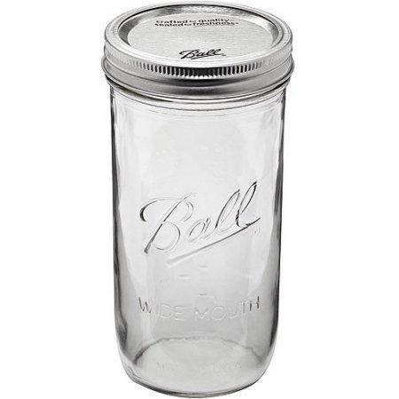 Ball 24 oz Jar, Wide mouth, 24 ounce ()