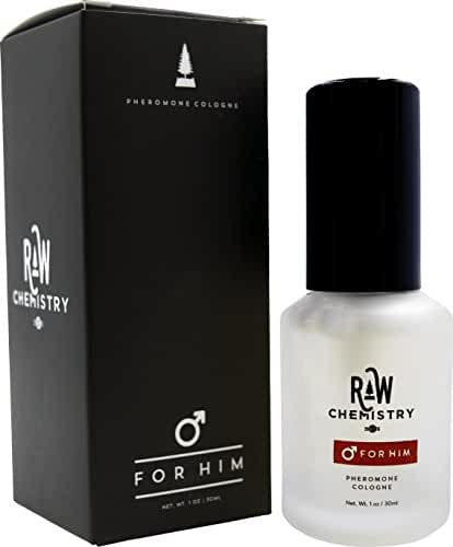 Pheromones For Men Pheromone Cologne [Attract Women] - Bold, Extra Strength Human Pheromones Formula by RawChemistry - 1 Fl Oz (Human Grade Pheromones to Attract Women)
