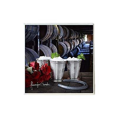 Derby Mint Juleps 4 Ceramic Coaster