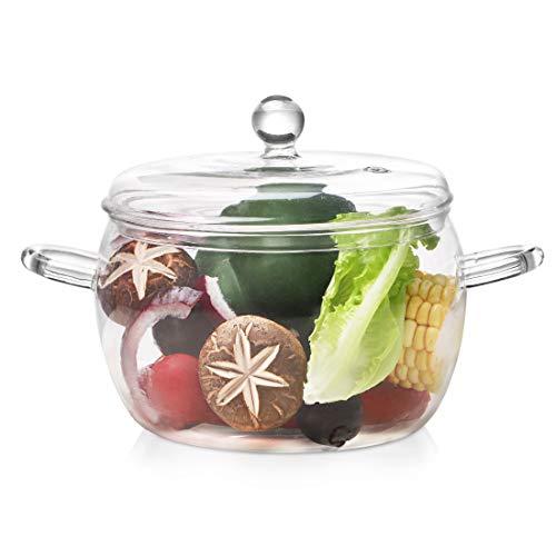 Glass Saucepan with Lid
