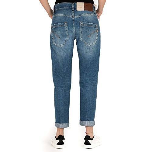 In Blue Jeans Made Fit Donna Pantalone Loose P611 800 Italy Dondup Denim Paige a6qHB06w