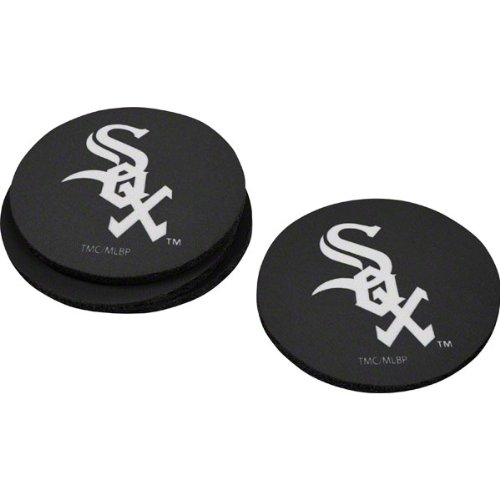 The Memory Company MLB Chicago White Sox Official Neoprene Travel Car Coasters (4 Pack), Multicolor, One Size MLB-CWS-1240 23-34279-001