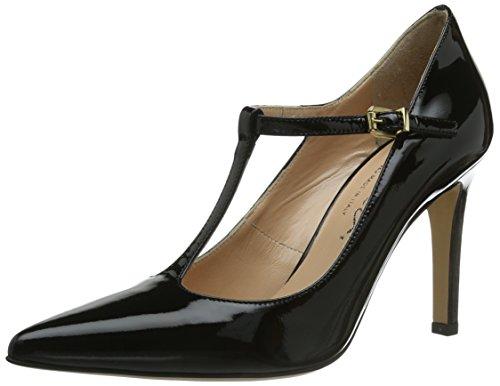Evita Shoes Pumps geschlossen - Zapatos de vestir de cuero para mujer Schwarz/ Schwarz
