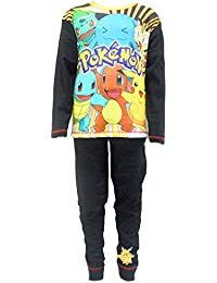 Pokemon Characters Boys Pajamas