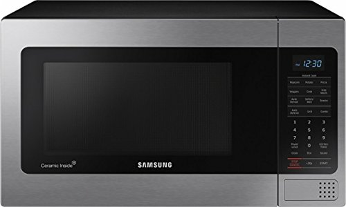Samsung - 1.1 Cu. Ft. Countertop Microwave - Stainless Steel ( MG11H2020CT )