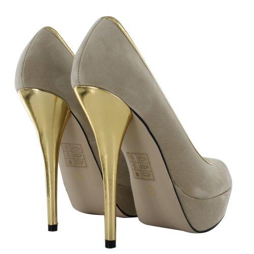 Footwear Sensation - Sandalias de vestir para mujer Beige - beige