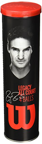 Wilson RF Legacy All Court Tennis Balls (Case)