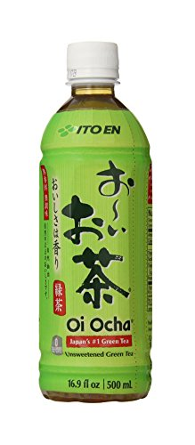 Ito En Oi Ocha Green Tea, Unsweetened, 16.9 Fluid Ounce (Pack of 1), Unsweetened, Zero Calories, with Antioxidants, Excellent Source of Vitamin C, Product of Japan