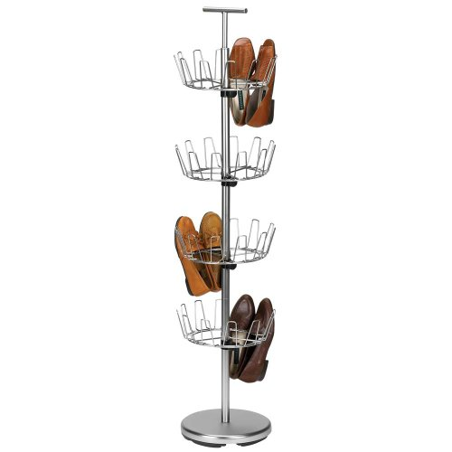 Household Essentials Four Tier Revolving Nickel