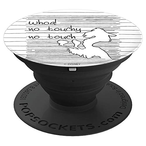 Disney Emperors New Groove Llama Kuzco Whoa! No Touchy! - PopSockets Grip and Stand for Phones and Tablets