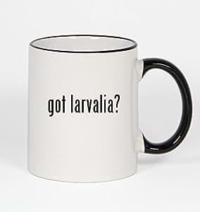 got larvalia? - 11oz Black Handle Coffee Mug