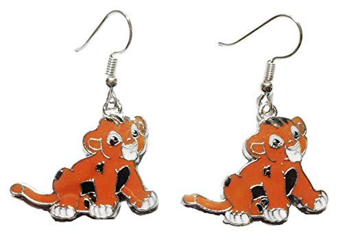 Lion King Simba Character French Wire Earrings