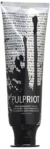 Pulp Riot Semi-Permanent Hair Color for Unisex, Powder Light Blue, 4 Ounce Permanent Hair Dye Powder