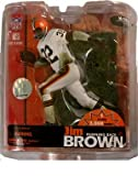 McFarlane Toys NFL Sports Picks 2007 Hall of Fame Limited Edition Exclusive Action Figure Jim Brown (Cleveland Browns) White Jersey