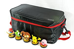 DELUXE CHARACTER FIGURE STORAGE BAG (Disney Infinity) Black / Red - (PS3/Xbox 360/Wii U/3DS)
